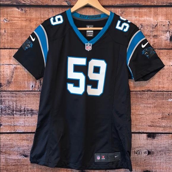watch 1d1e5 376d3 NFL Luke Kuechly 59 Panthers NFL Jersey